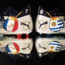 Chaussures de Foot Customisation Orravan Design Antoine Griezmann match France Uruguay