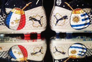 Orravan Design personnalise des chaussures de foot pour Antoine Griezmann