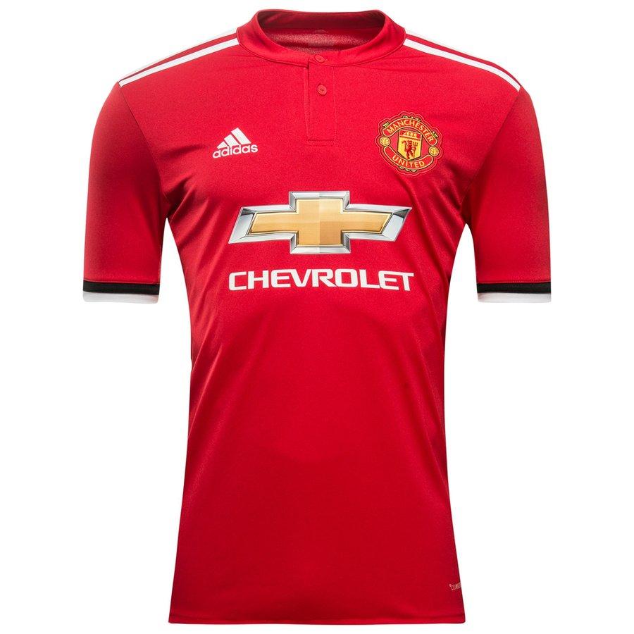 Maillot de Foot Manchester United Domicile 2017-18