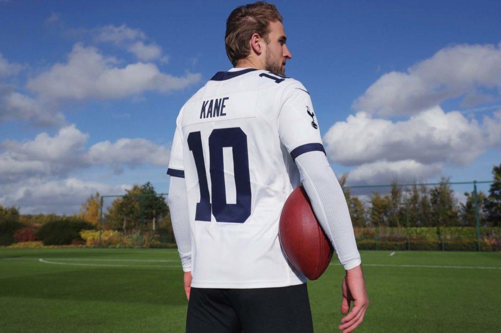Maillot-Nike-Tottenham-10-Kane-NFL-Football-Americain