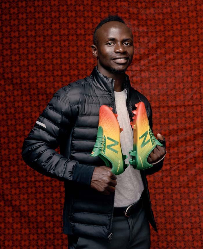 Une New Balance Furon aux couleurs du Sénégal pour Sadio Mané