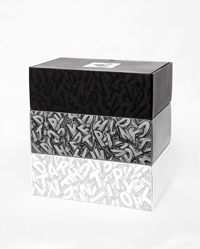 adidas Glitch Skins par Nairone Box