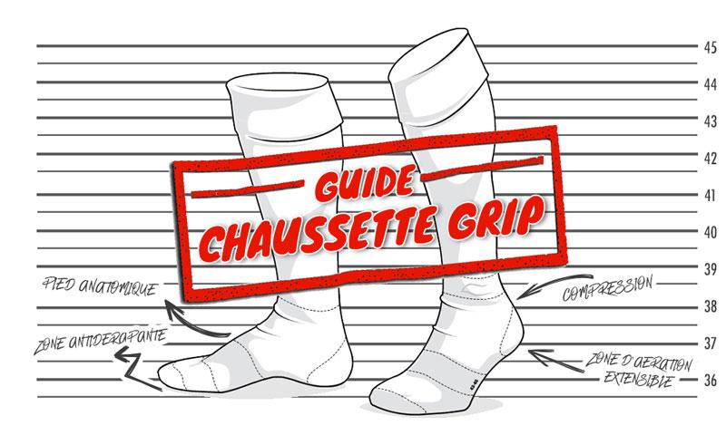 Guide des Chaussettes antidérapante pour le football Test et Avis