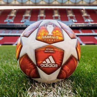adidas présente le ballon de la finale de la Ligue des Champions 2019