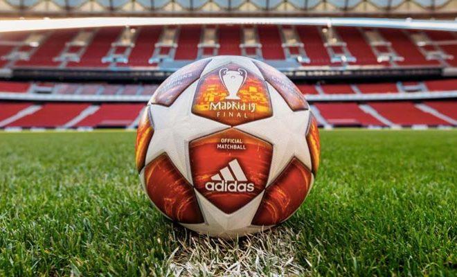 Ballon adidas de la finale de la Ligue des Champions 2019