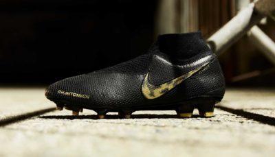 chaussure de football Nike Phantom Vision Black Lux