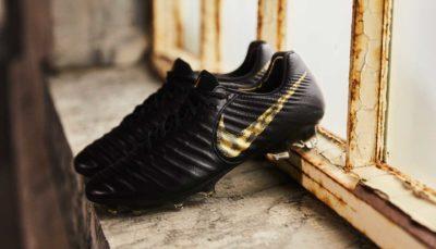 chaussure de football Nike Tiempo 7 Black Lux