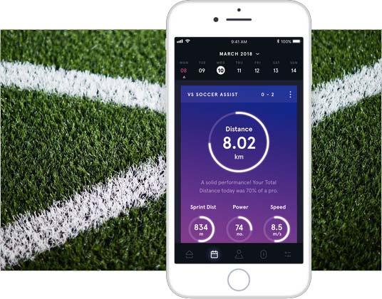 Suivi GPS pour Football