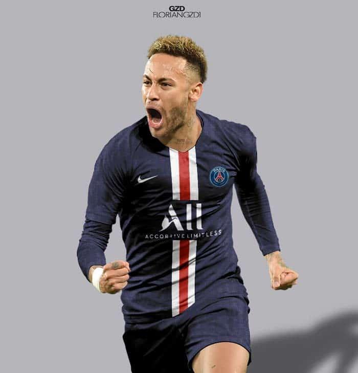 PSG Maillot 2019-2020 Sponsor ALL