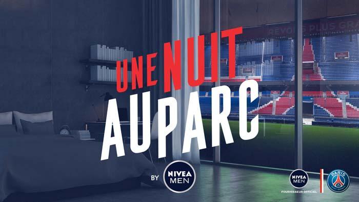 JEU CONCOURS PSG X NIVEA - Une nuit au Parc