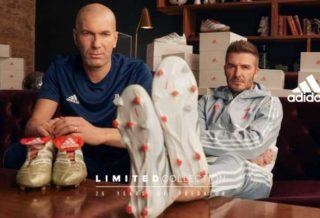 adidas célèbre les 25 ans de la Predator et réédite les modèles portés par Zidane et Beckham
