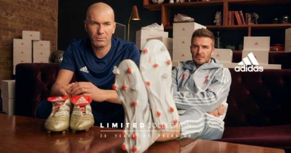 adidas football pack archive Zidane Beckham