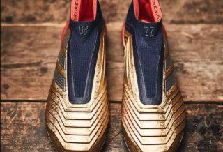nouvelle chaussure de foot adidas predator 19+ edition spéciale Zidane X Beckham