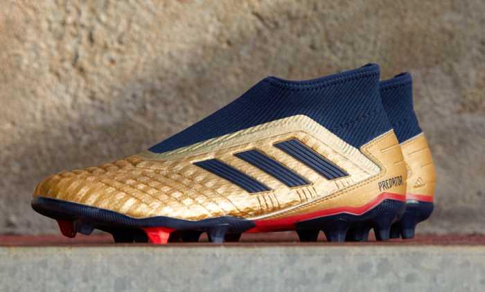 chaussure foot adidas Predator 19+ Pack Archive 2019 - Zidane X Beckham