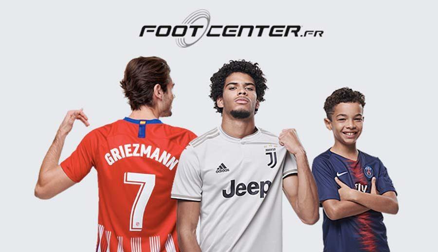 ᐅ Code promo Foot Center → 15% sur tout le site | Foot Inside
