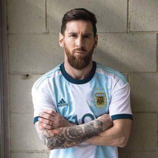 Le nouveau maillot de l'Argentine pour la Copa America 2019