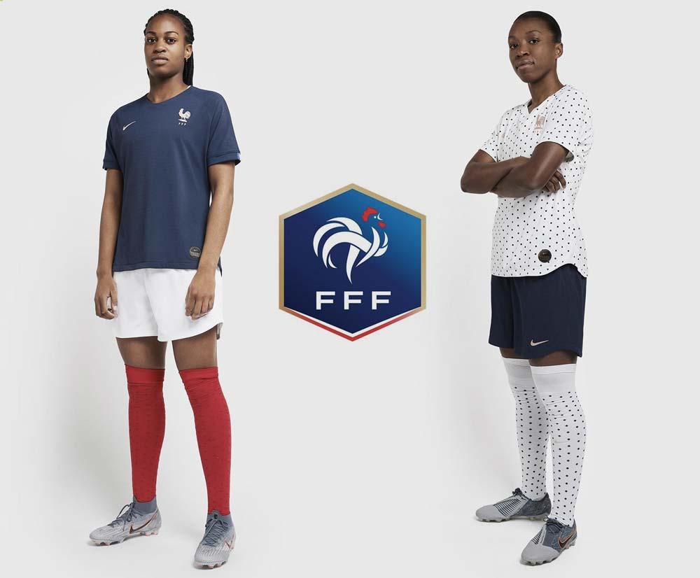 les maillots de l'équipe de France féminine dévoilés pour la Coupe du monde 2019