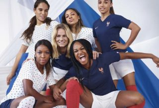les maillots de l'équipe de France féminine pour la Coupe du Monde 2019