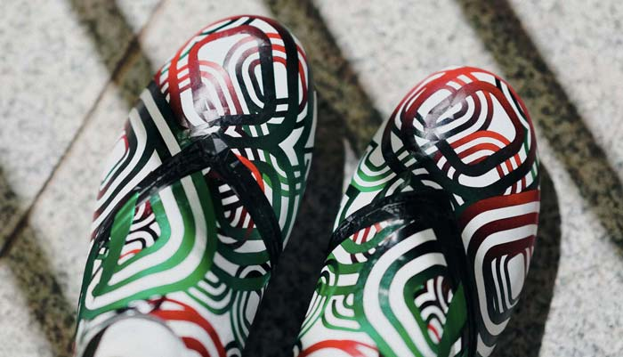 adidas Glitch Skin inspirée par la coupe du monde 1986