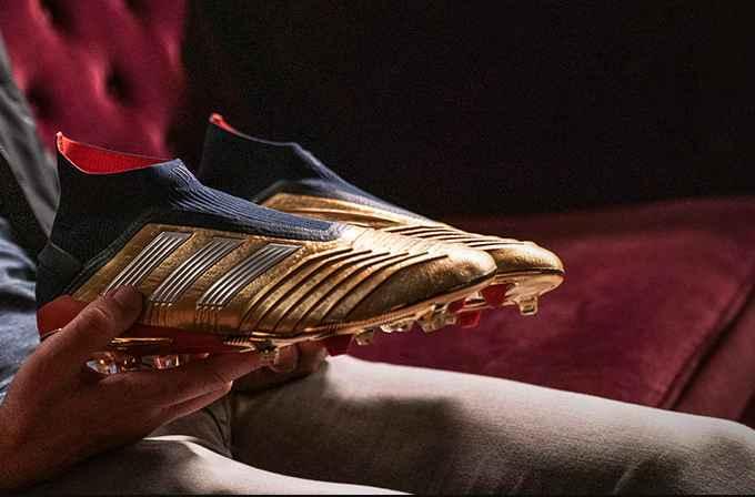 nouvelle chaussure de foot adidas predator 19+ edition spéciale 25ème anniversaire Zidane X Beckham