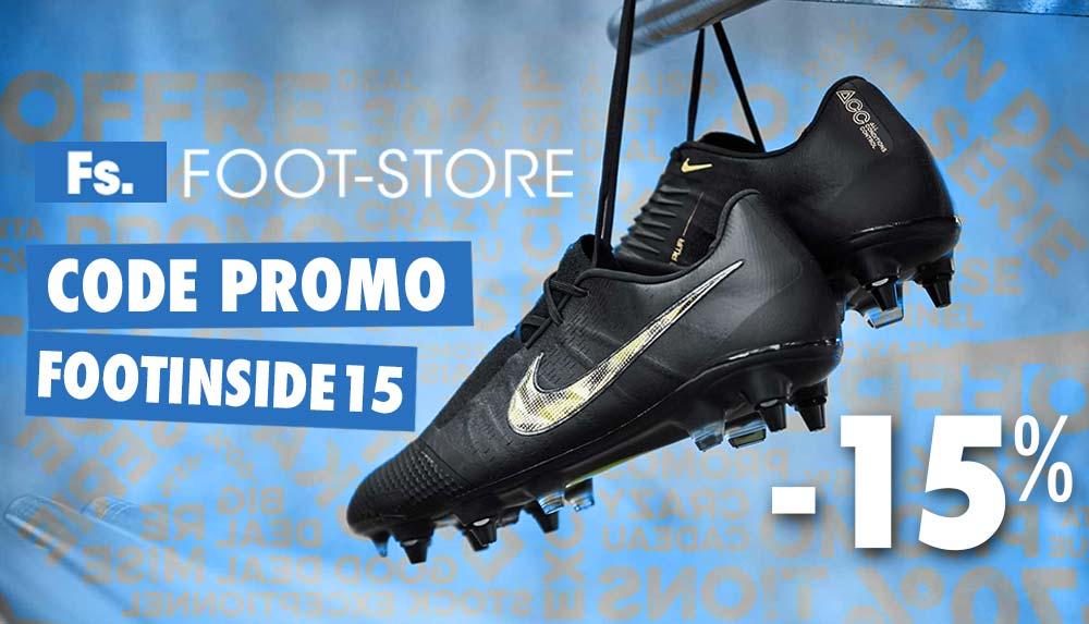 Code Promo Foot 15% sur tous les produits | Foot