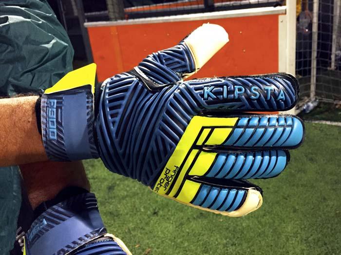 Gant de gardien de but Kipsta F900 Finger Protect pour gardien confirmé