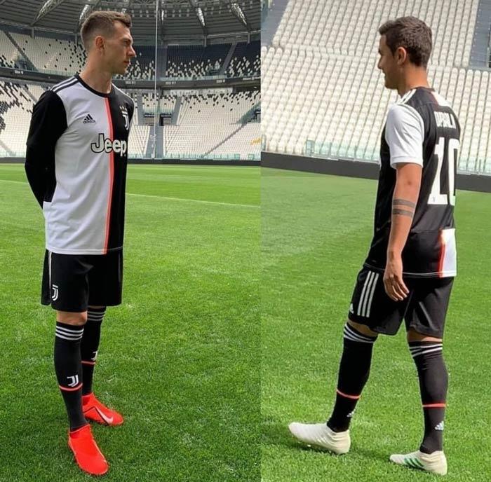 Le maillot de la Juventus de Turin Saison 2019-2020 a fuité