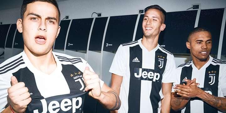 Juventus - Top 10 des maillots les plus vendus
