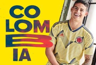 Nouveau maillot de la Colombie pour la Copa América 2019