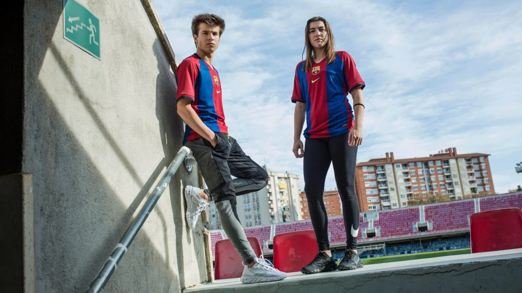 Nike réédite le maillot du FC Barcelone saison 1998/99