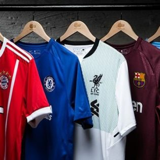 Football : Top 10 des clubs qui vendent le plus de maillots en 2018