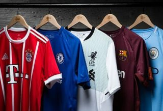 Football : Top 10 des clubs qui vendent le plus de maillots en 2018