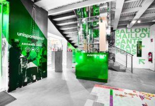 Boutique Unisport Store, un magasin 100% Foot à Paris