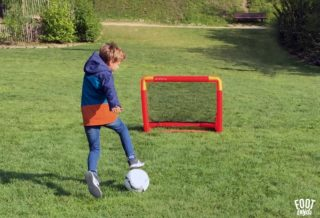 But de Foot Decathlon 2019 - Test  et Avis des Cages Kipsta NG500