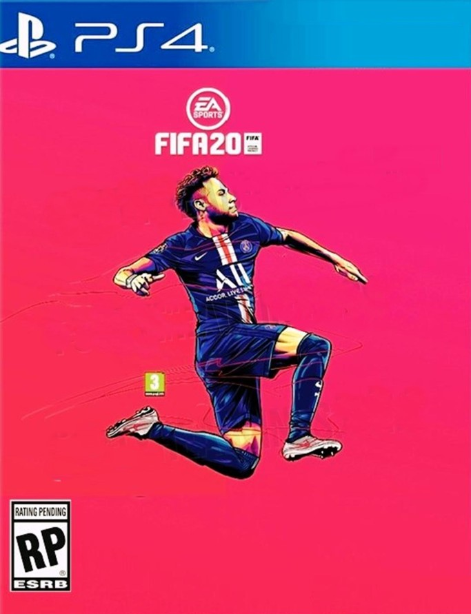 Couverture Jeu Video FIFA20 - PSG Neymar