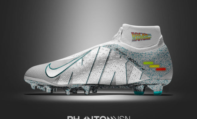 Customisation Chaussure de Foot Retour vers le Futur Film CInema -Graphic-United