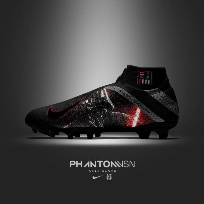 Des chaussures de foot customisées sur le thème du Cinéma