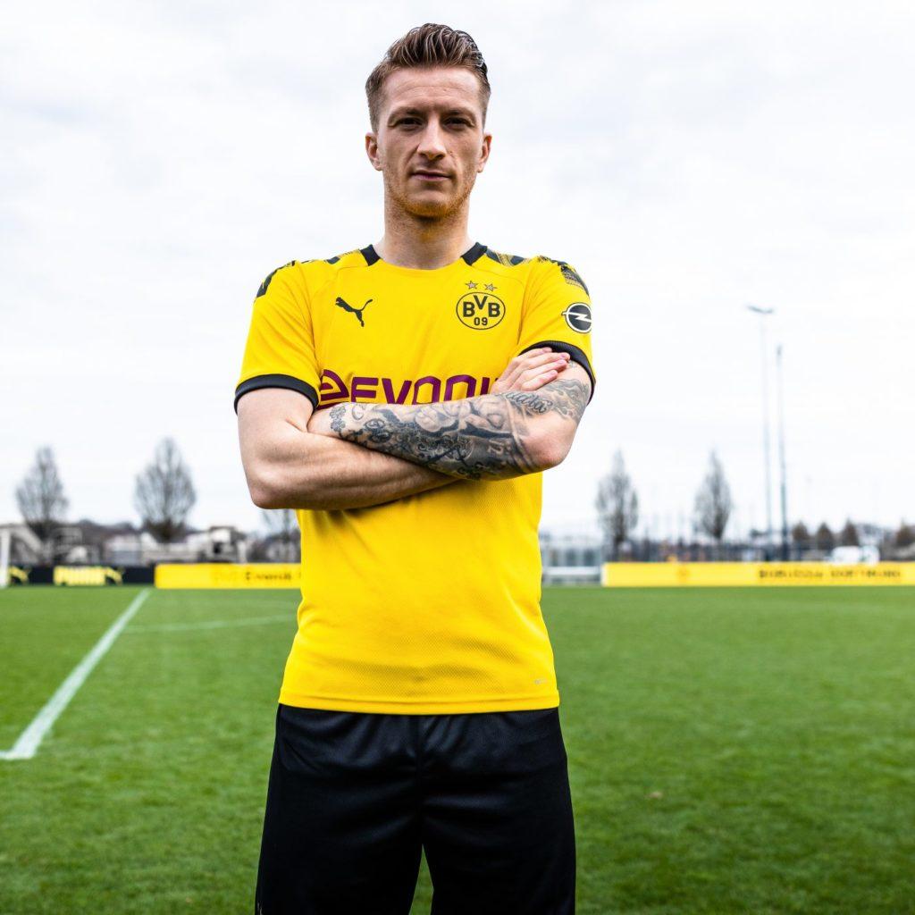 nouveau maillot domicile du Borussia Dortmund 2019-2020