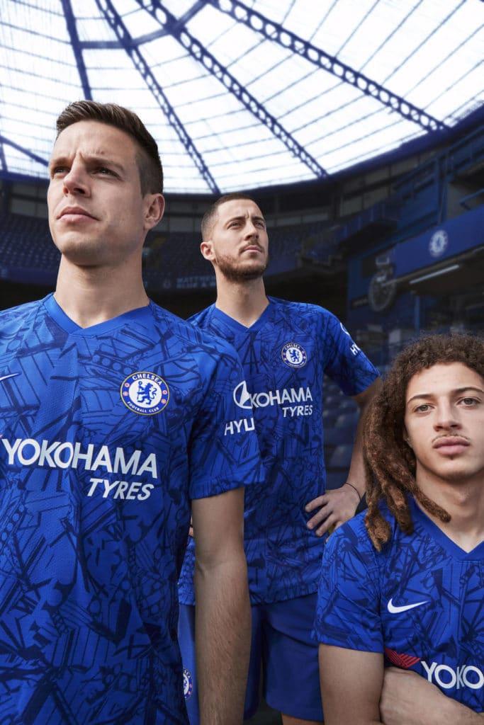 Nouveau Maillot de Chelsea domicile saison 2019-2020