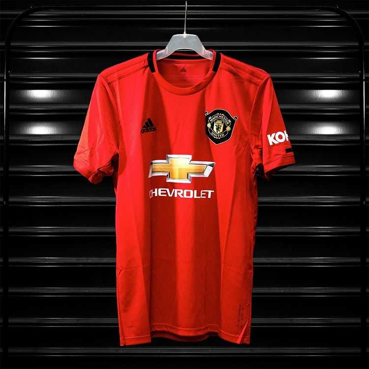 maillot domicile Manchester United 2019-2020