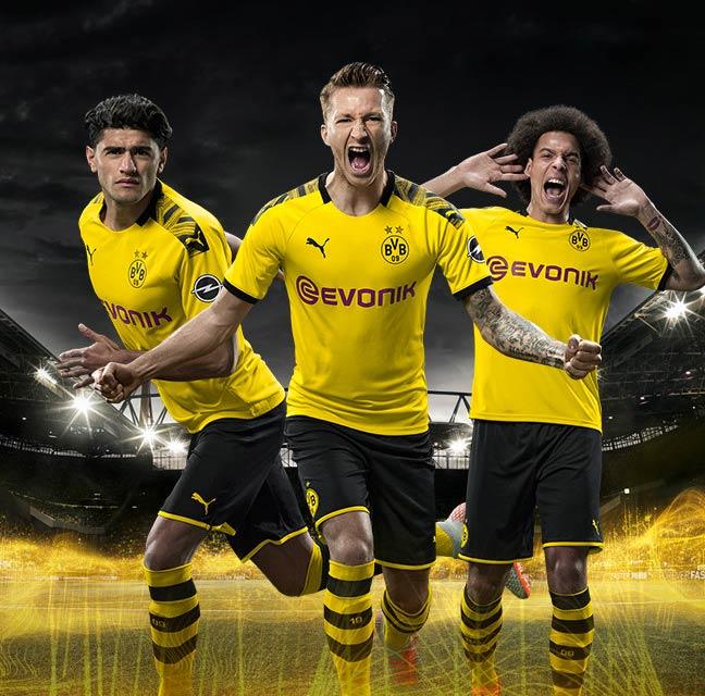 Tenue domicile Borussia Dortmund 2019-2020
