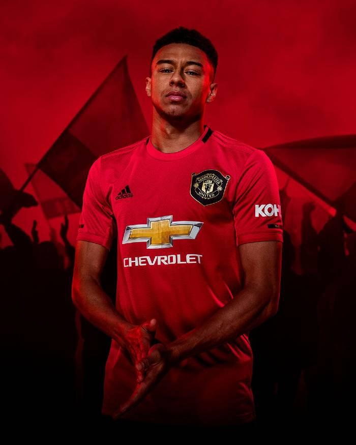 maillot domicile de Manchester United 2019-2020