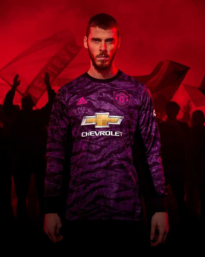 maillot gardien de but Manchester United 2019