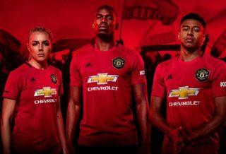 Le nouveau maillot domicile de Manchester United 2019-2020