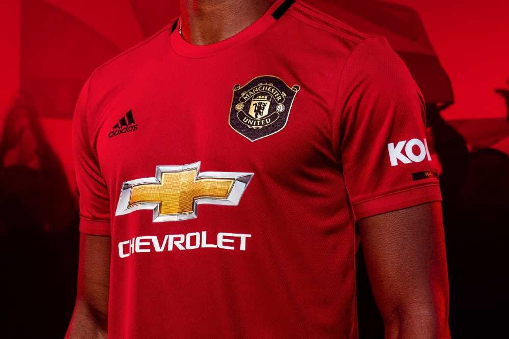 maillot Manchester United domicile 2019-2020