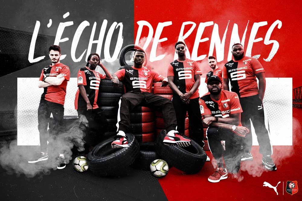 Le nouveau maillot domicile du Stade Rennais F.C - Saison 2019-2020