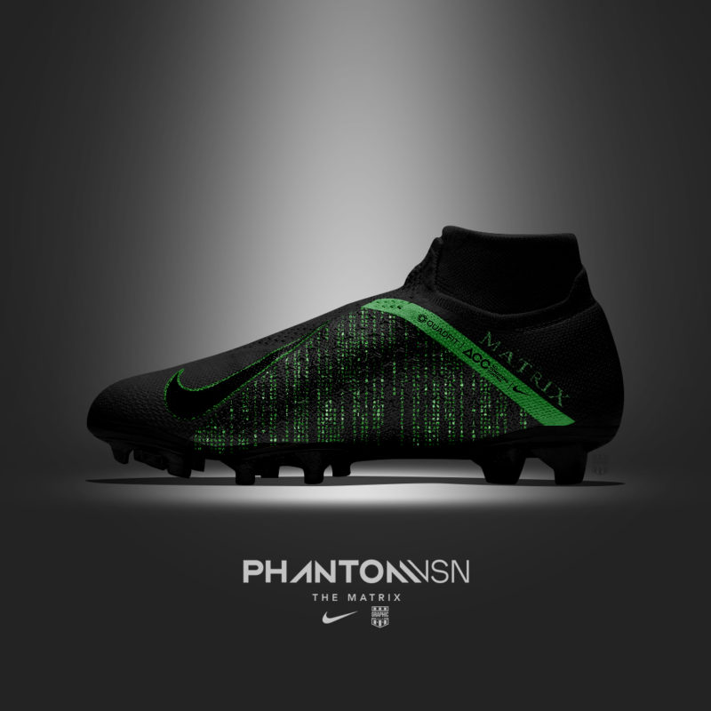 Nike Phantom Vision Matrix - Customisation Graphic-United