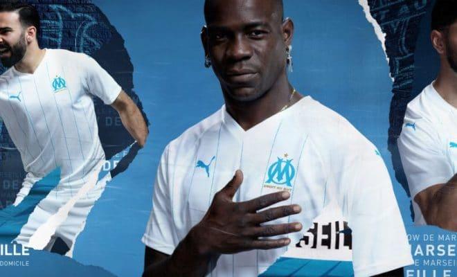 nouveau maillot domicile Olympique Marseille OM 2019-2020