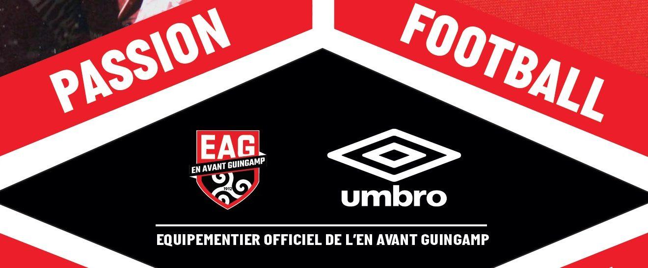 Umbro nouvel équipementier de l'En Avant Guingamp | Foot Inside