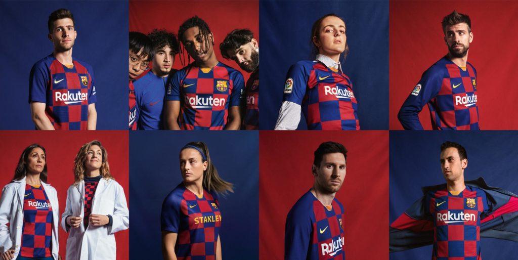 FC Barcelone Maillot domicile 2019-2020